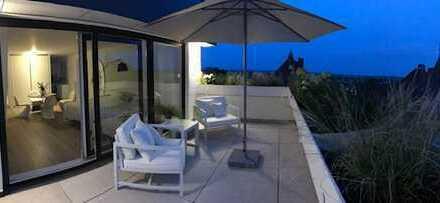 Erstbezug, mit 2 Dachterrassen in einem perfekten Design-Appartement