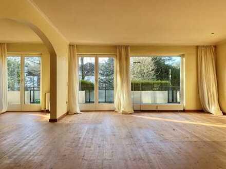 Großzügig geschnittene 2-Zimmer-Wohnung im grünen Blankenese!