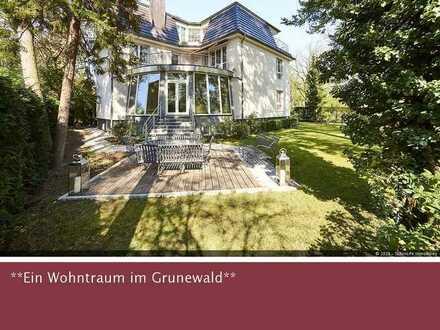 Exklusive Stadt-Villa im edlen Grunewald! *voll möbliert*