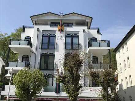 VILLA LENA, Stilvolle, gepflegte 3-Zimmer-Wohnung mit Balkon und Einbauküche in Sellin