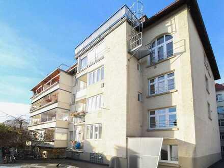 Zentrumsnah und ruhig gelegen: Souterrain-Büro mit 3 Räumen in Stuttgart