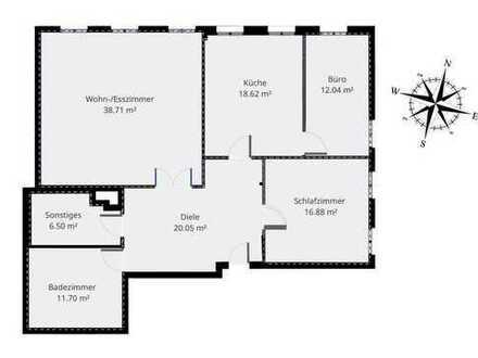 Erstbezug nach Sanierung: günstige 4-Zimmer-Wohnung zur Miete in Wadersloh-Liesborn