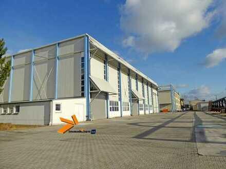 Nutzungsflexible Warmhalle (mit Bürofläche und Sanitärbereich) - An der A14