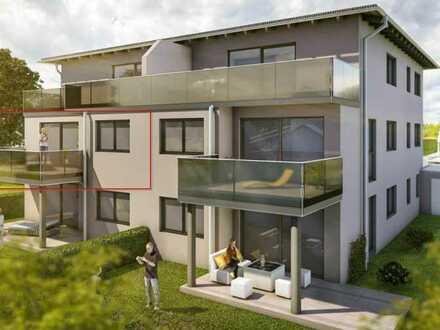 Erstbezug: attraktive 3-Zimmer-Wohnung mit Balkon in Burglengenfeld
