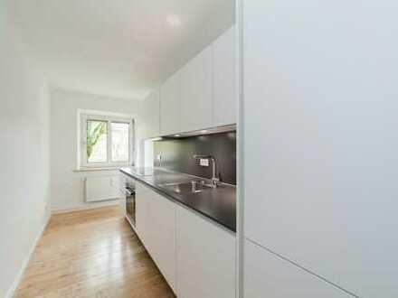 Erstbezug nach Sanierung 2 Zimmer Wohnung mit Einbauküche und Balkon