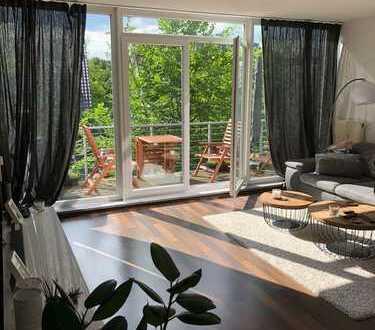 Gepflegte 3-Zimmer-Wohnung mit Balkon in Refrath Bergisch Gladbach/Waldnähe, zentral,verkehrsgünstig