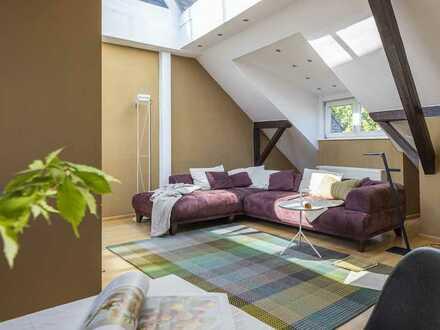Maisonettewohnung mit zwei Balkonen in hervorragender Lage