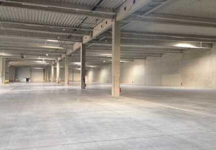 Funktionale Logistikliegenschaft mit ca. 16.000 m² Hallenfläche ab sofort zu vermieten