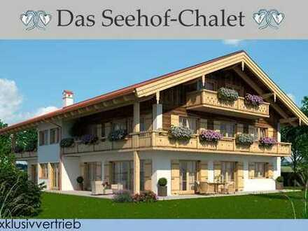 """Dachgeschoss mit Seeblick! Premium Neubauwohnung """"Das Seehof-Chalet"""""""