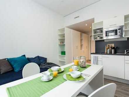 1-Zimmer-Appartement // camp5 - smart und zentral wohnen