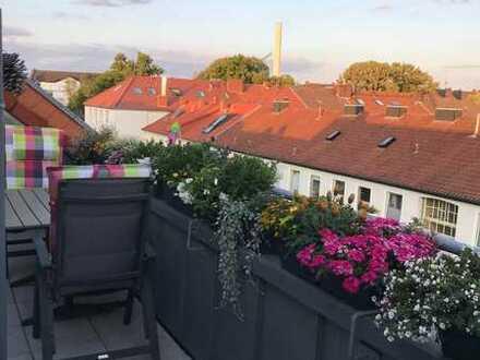 Über den Dächern des Südviertels | von privat | TG-Stellplatz inkl.