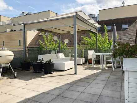 Absolute Citylage - große Dachterrasse - 2 TG Stellplätze