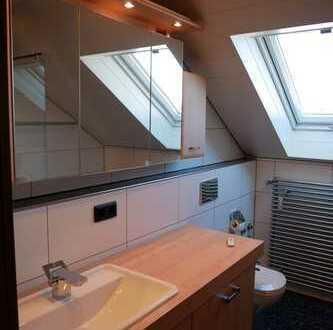 Großzügige Maisonette-Wohnung mit 3,5 Zimmern und 2 Balkonen sowie EBK in Affaltrach
