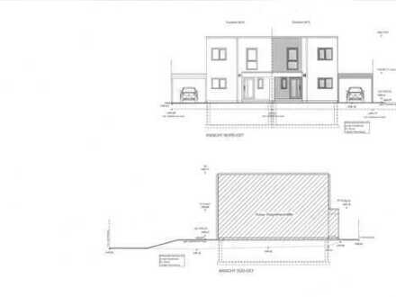 architektonisch ansprechende Neubaudoppelhaushälfte in Herten II