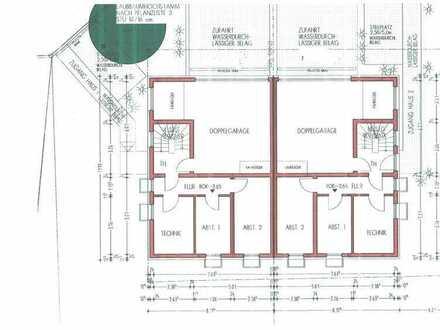 Einmalig schöne große 5,5 Zim, Wohnung auf 2 Voll-Geschosse keine Dachschrägen + Gartenanteil.l