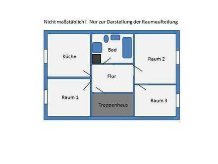 3 Zimmer, Küche, Bad, am Fusse der Steinernen Brücke