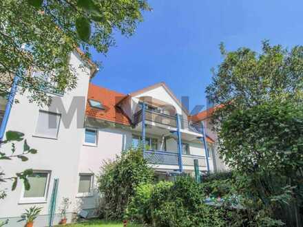 Unkompliziert und vielversprechend: Attraktive 2-Zi.-ETW mit Balkon nahe Dresden