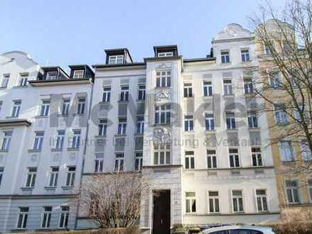 Rentable Kapitalanlage: Gepflegte und sicher vermietete 2-Zi.-ETW mit Balkon am Küchwald!