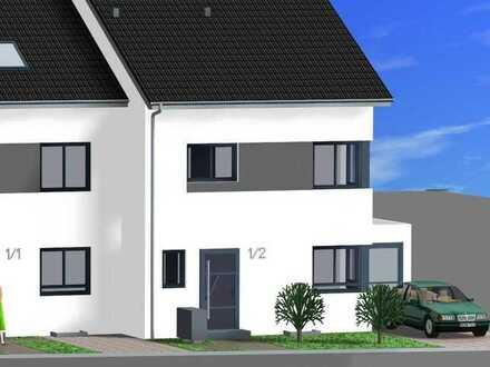 Hemsbach ~ Bergstrasse / Exklusiver Neubau von 3 Reihenhäusern - BAUBEGINN BEREITS ERFOLGT !!!