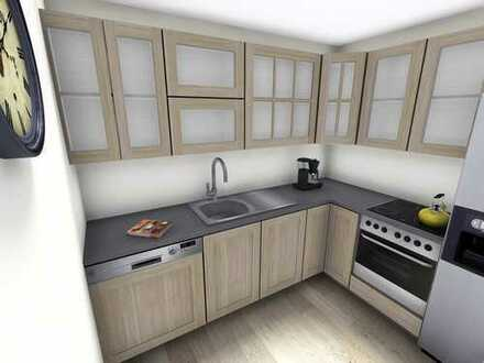 Barrierearmes Wohnen - 2-Raum-Wohnung mit Balkon