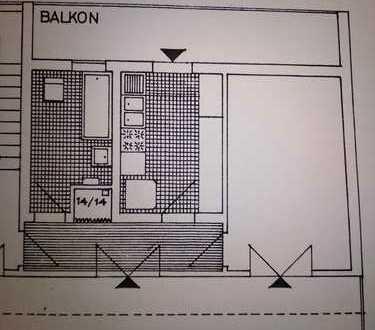 1-Zimmer Wohnung-LU-Friesenheim