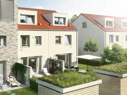 Neubau mit Fußbodenheizung, Rollläden, KfW-55, Südgarten uvm.!