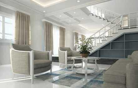 Elegante DHH KfW 45 mit ausgebautem Dachstudio, 5 Zimmern und EBK