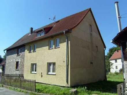 Größeres Wohnhaus in Breitungen/Werra mit Garten