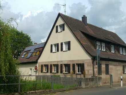 Historisches & teilweise renoviertes Einfamilienhaus zur Miete im wunderschönen Kraftshof, Nürnberg