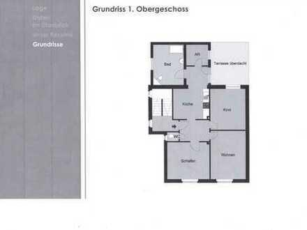 Erstbezug nach Sanierung: schöne 4-Zimmer-Wohnung mit Balkon in Holzwickede