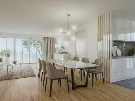 Großzügige 5-Zimmer-Belétage im modernen Neubau - Herrlich ruhig und wunderbar hell.
