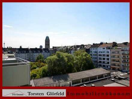 Über den Dächern von Pempelfort - 3 Zimmer Maisonette-Wohnung mit 2 Bädern und Balkon