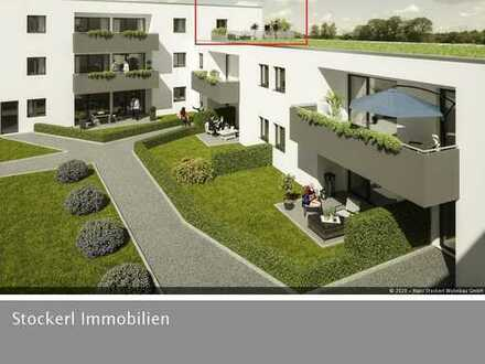 Dachterrassenwohnung mit Fensterfront und Dachbegrünung ! - Neubau - U-Haus 4/6