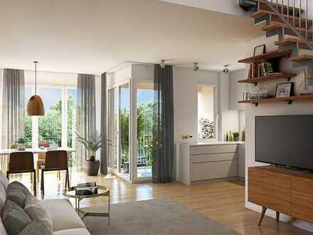 Freuen Sie sich auf Ihr neues Zuhause! 3-Zimmer-Wohnung mit 2 Bäder, Loggia und Dachterrasse
