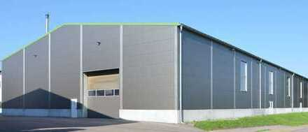 """BAUMÜLLER & CO."" 2.400 m² Hallenfläche - Neubau"