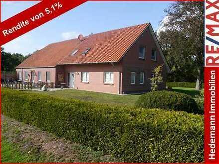 * Bauernhaus * kernsaniert für ca. 180.000 € * top vermietet * ideales Renditeobjekt *