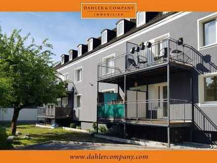 Citynahes Wohnen mit Balkon und Stellplatz