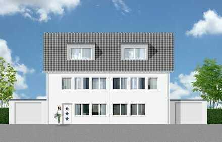 Bad Honnef-Zentrum, Neubau-DHH auf sonnigem 414m² Südwestgrundstück