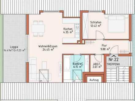 Neubauprojekt Harthausen - Haus 3 - Wohnung 22