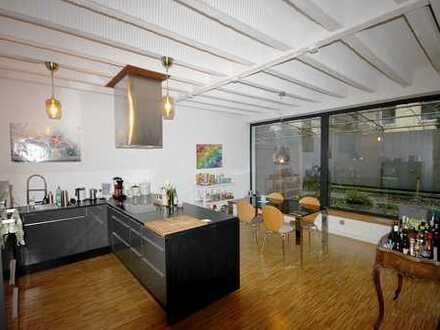 Fairmieten – Individueller Lifestyle: Top Loft-Wohnung mit 2 Zimmern und Terrasse im Hinterhof