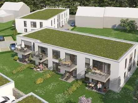 Neubau Zwei Freunde: 110 qm, 4 Zi. 3 Seiten bodentiefe Fenster, Balkon, Südseite, geh. Ausstattung