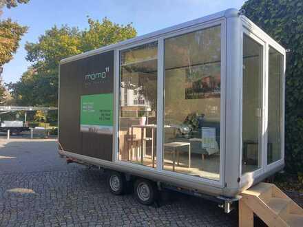 Besichtigen Sie unseren modernes und komfortables Hause im Konzept des Tiny-House in Berlin