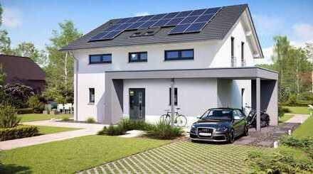 bis 70% Energiekosten senken - Neubau mit Photovoltaik-Anlage und Speicher