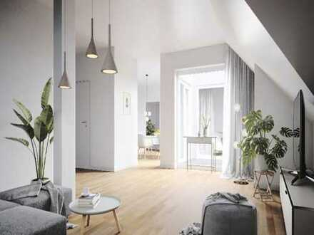 Das Beste aus Natur & City | 4-Zimmer-Dachgeschosswohnung mit Loggia