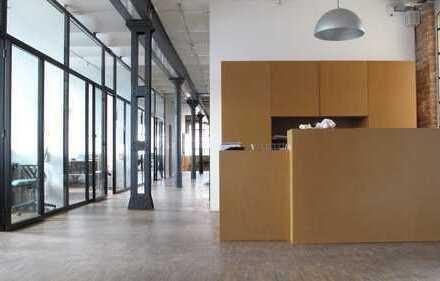 Büro in kreativem Umfeld