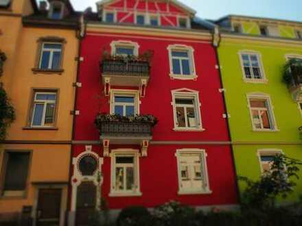 Leben in Zentrum Freiburgs