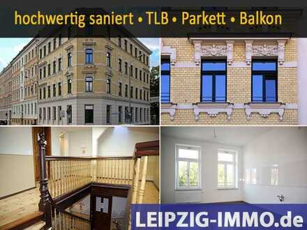 Grün-Großzügig-Gründerzeit*3RaumWhg* Parkett * Balkon* TLB mit Wanne + Dusche