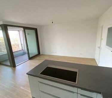#Neubau #3Zimmer #elegant #Einbauküche #Westloggia #Pandion LE Blanc