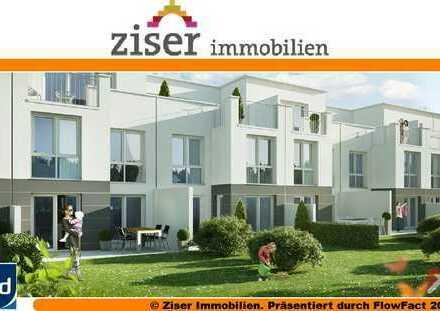 Neubau RMH Nr. 9 mit ca. 140m² Wfl., 2 Süd-Terrassen, 1 xTG und 1 Aussenstellplatz