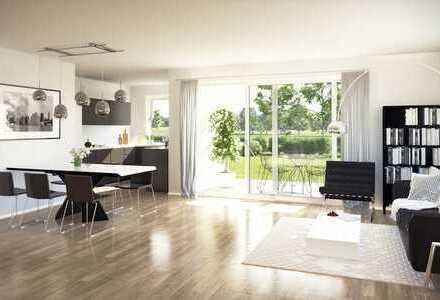 Wohnen mit Weitblick: 3 Zi. - Neubauwohnung mit unverbauter Aussicht